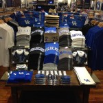 Athletic wear for University of Kentucky fans.